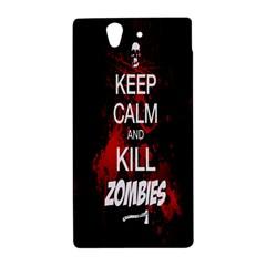 Keep Calm & Kill Zombies Sony Xperia Z L36H Hardshell Case