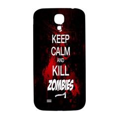 Keep Calm & Kill Zombies Samsung Galaxy S4 I9500/I9505  Hardshell Back Case