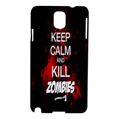Keep Calm & Kill Zombies Samsung Galaxy Note 3 N9005 Hardshell Case
