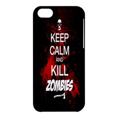 Keep Calm & Kill Zombies Apple iPhone 5C Hardshell Case