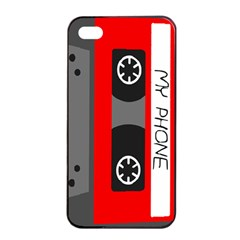 Cassette Phone Apple Iphone 4/4s Seamless Case (black)