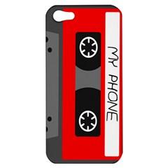 Cassette Phone Apple iPhone 5 Hardshell Case