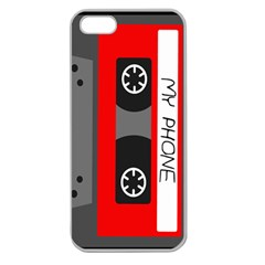 Cassette Phone Apple Seamless Iphone 5 Case (clear)