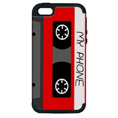 Cassette Phone Apple iPhone 5 Hardshell Case (PC+Silicone)