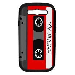 Cassette Phone Samsung Galaxy S Iii Hardshell Case (pc+silicone)
