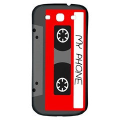 Cassette Phone Samsung Galaxy S3 S Iii Classic Hardshell Back Case