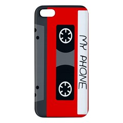 Cassette Phone Iphone 5 Premium Hardshell Case