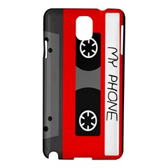 Cassette Phone Samsung Galaxy Note 3 N9005 Hardshell Case