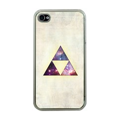 Cosmic Triangles Apple iPhone 4 Case (Clear)