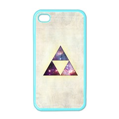 Cosmic Triangles Apple Iphone 4 Case (color)