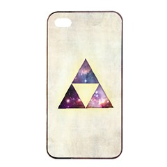 Cosmic Triangles Apple Iphone 4/4s Seamless Case (black)