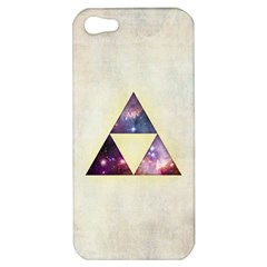 Cosmic Triangles Apple iPhone 5 Hardshell Case