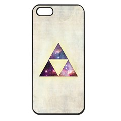Cosmic Triangles Apple Iphone 5 Seamless Case (black)