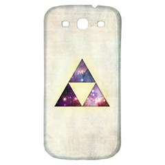 Cosmic Triangles Samsung Galaxy S3 S III Classic Hardshell Back Case