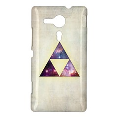 Cosmic Triangles Sony Xperia Sp M35H Hardshell Case