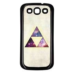 Cosmic Triangles Samsung Galaxy S3 Back Case (Black)
