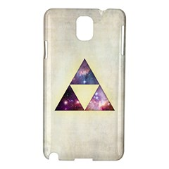 Cosmic Triangles Samsung Galaxy Note 3 N9005 Hardshell Case