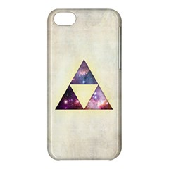 Cosmic Triangles Apple iPhone 5C Hardshell Case