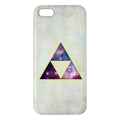 Cosmic Triangles iPhone 5S Premium Hardshell Case