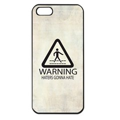 Warning: Haters gonna hate Apple iPhone 5 Seamless Case (Black)