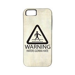 Warning: Haters Gonna Hate Apple Iphone 5 Classic Hardshell Case (pc+silicone)