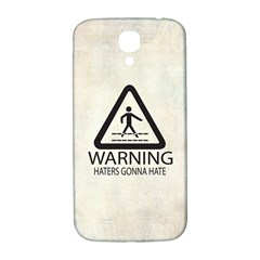 Warning: Haters Gonna Hate Samsung Galaxy S4 I9500/i9505  Hardshell Back Case