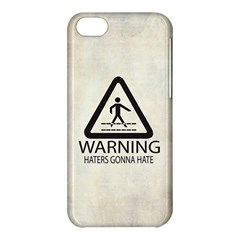 Warning: Haters gonna hate Apple iPhone 5C Hardshell Case