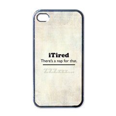 iTired Apple iPhone 4 Case (Black)
