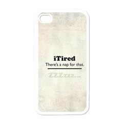 iTired Apple iPhone 4 Case (White)