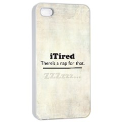 iTired Apple iPhone 4/4s Seamless Case (White)