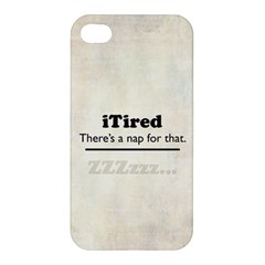 iTired Apple iPhone 4/4S Premium Hardshell Case