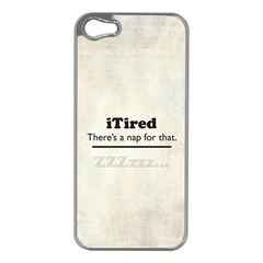 Itired Apple Iphone 5 Case (silver)