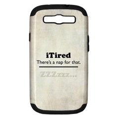 Itired Samsung Galaxy S Iii Hardshell Case (pc+silicone)