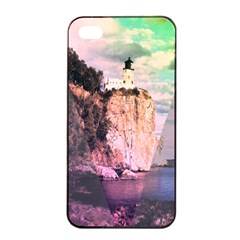 Lighthouse Apple iPhone 4/4s Seamless Case (Black)