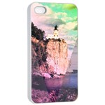 Lighthouse Apple iPhone 4/4s Seamless Case (White) Front