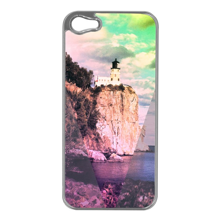 Lighthouse Apple iPhone 5 Case (Silver)
