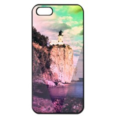 Lighthouse Apple iPhone 5 Seamless Case (Black)
