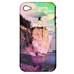 Lighthouse Apple iPhone 4/4S Hardshell Case (PC+Silicone)