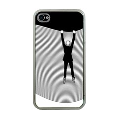 Hang On The Phone!  Apple iPhone 4 Case (Clear)