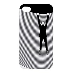 Hang On The Phone!  Apple iPhone 4/4S Premium Hardshell Case