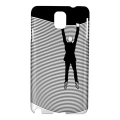 """Hang On The Phone!"" Samsung Galaxy Note 3 N9005 Hardshell Case"