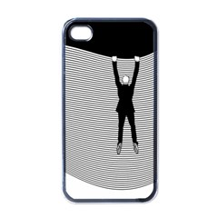 Hang On The Phone!  Apple iPhone 4 Case (Black)