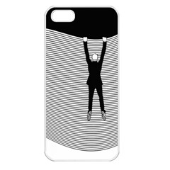 Hang On The Phone!  Apple iPhone 5 Seamless Case (White)