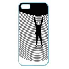 hang On The Phone!  Apple Seamless Iphone 5 Case (color)
