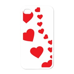 Follow Your Heart Apple iPhone 4 Case (White)