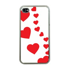 Follow Your Heart Apple iPhone 4 Case (Clear)