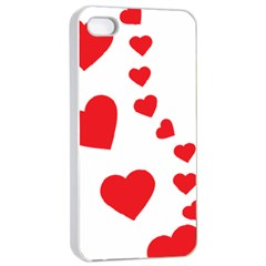 Follow Your Heart Apple iPhone 4/4s Seamless Case (White)
