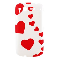 Follow Your Heart HTC Desire S Hardshell Case