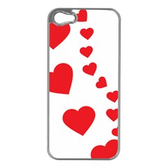 Follow Your Heart Apple Iphone 5 Case (silver)