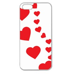 Follow Your Heart Apple Seamless iPhone 5 Case (Clear)